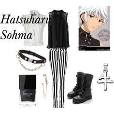 """Hatsuharu Sohma- Fruits Basket"" by animedowntherunway on Polyvore"