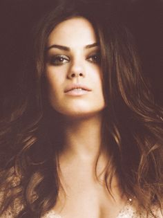 Mila Kunis is the girl that can hang with the guys.