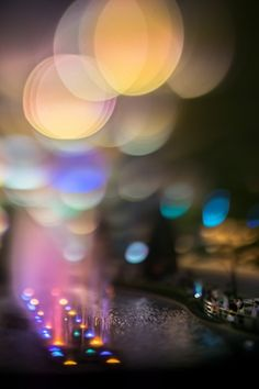 "Takashi Kitajima's ""extra bokeh"" series depicts Tokyo as a sea of bokeh balls"