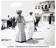 Χανιά. 1900 περίπου. Φωτογραφικό Αρχείο του συνταγματάρχη Émile Honoré Destelle. Δημοσίευση Ελένης Σημαντήρη. Madame, Crete, History, Pictures, Historia