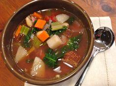 Tuscan Ham Soup