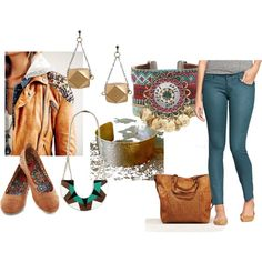 """""""Dress Your Truth Type 3- Casual"""" by donnalines on Polyvore"""