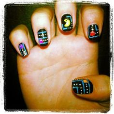 pacman nails