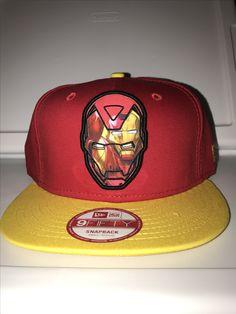 New era marvel Iron Man within Iron Man and Iron Man head on the back snapback
