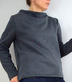 """Ihr sucht nach einem Pulloverschnitt, der schlicht und einfach ist, aber trotzdem das gewisse Etwas hat? Dann schaut Euch mal den """"Toaster2..."""