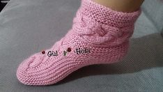 VK is the largest European social network with more than 100 million active users. Knit Art, Slipper Socks, Crochet Slippers, Crochet Designs, Knitting Socks, Adidas Sneakers, Shoes, Style, Patterns