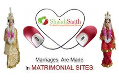 The Lord has a imagination for each of our lives, but marriage is only a part of life, it's not the aftermost way. Shaadi Saath probably has a perfect mate picked out for each of us. just visit www.shaadisaath.com .