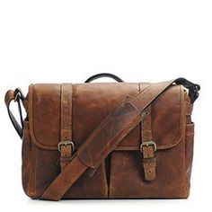 ONA Brixton Antique Cognac Leather Camera/Messenger Bag