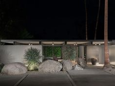 Donald Wexler built this house for his family in 1955.