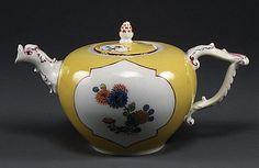 Teapot -  Factory: Meissen Manufactory -  Culture: German (Meissen) Medium: Hard-paste porcelain