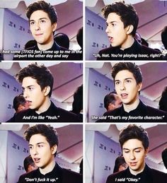Nat Wolff as Isaac in TFIOS<<< and he didn't, I think he did a really good job. Natt Wolf, Tfios, Divergent Quotes, Insurgent Quotes, Jhon Green, John Green Books, Augustus Waters, Paper Towns, This Is A Book