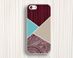red wooden disign iphone 5c casesiphone 5s skiniphone by Emmajins, $9.99
