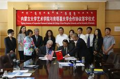 Inner Mongolia, Kentucky Arts and Culture in UK Spotlight  Multidisciplinary festival of American and Chinese art presented by University of Kentucky College of Fine Arts, the UK Confucius Institute and the Art College of Inner Mongolia University.