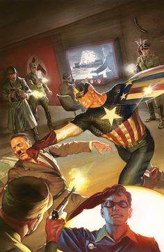 Alex Ross, Captain America!!