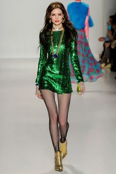 7d63a1ba7e Betsey Johnson Fall 2014 Ready-to-Wear Fashion Show