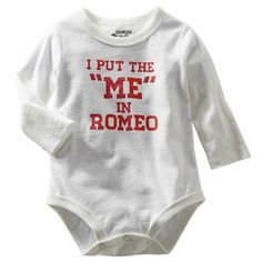 I Put The ME in Romeo - OshKosh Originals Romeo Graphic Bodysuit