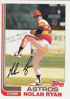 1982 Topps Nolan Ryan Baseball Card for sale online Baseball Games, Sports Baseball, Baseball Players, Baseball Cap, Baseball Lineup, Japan Baseball, Baseball Boyfriend, Texas Baseball, Baseball Training