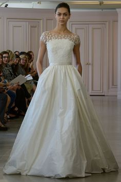 b4a4f53a9e Oscar De La Renta Collection New York Bridal Market 2016 · 2016 Wedding  TrendsWedding Dress TrendsDream ...