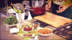 Pasta integrale con pesto di spinaci: gli ingredienti
