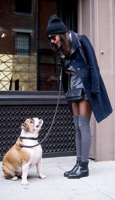 Street style : 11 femmes et leur chien | Astuces de filles