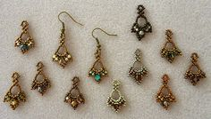 I thought you might like to see what I've been up to for the past couple of days. I was experimenting with a new earring pattern that I bo...