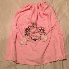 NEW Juicy Couture Dustbag Brand new. Drawstring close. Same day shipping. Juicy Couture Bags Totes