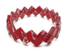 Starburst CHERRY Flavor Recycled/Upcycled Candy by justByou, $7.00 #spinoff #RT