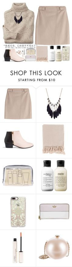 """""""Без названия #512"""" by songjieun ❤ liked on Polyvore featuring Steffen Schraut, Nine to Five, Surya, Muji, philosophy, Casetify, Kate Spade, By Terry and Chanel"""