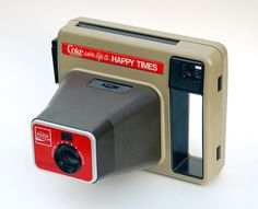 Kodak Happy Times Instant #Camera #vintage