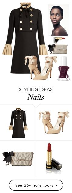 """""""Fall Fabulous"""" by kotnourka on Polyvore featuring Gucci, Alice + Olivia, My Flat In London and Essie"""