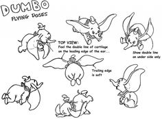 Dumbo: 40 Original Concept Art Collection - Daily Art, Movie Art