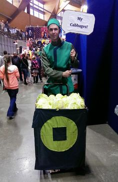 Cabbage guy, Avatar: The Last Air Bender.