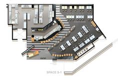 Restaurant Floor Plan by Restaurant Consultants