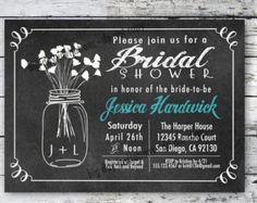 Couples or Coed Bridal Shower Printable Invitation-I by LeeandLoe