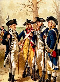 Continental Infantry, 1779-1783.