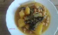 Ahora, que ya por fin, parece que no hace tanto calor, va apeteciendo de vez en cuando un plato caliente.Este es un plato típico murciano...