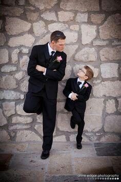 Rikkert met zijn neefje, boefjes op en top