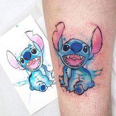 Stitch done by @josiesexton  #InkedDisney
