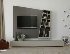 Could do something funky like this using alcoves in games room?