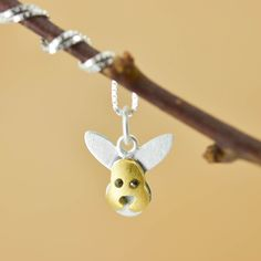 Rabbit Pendant, Rabbit Necklace, Rabbit Jewelry, Rabbit Charm, 925 Sterling Silver, Bridesmaid Gift, Best Friend Gift,  Gift for her by CharmNecklaceJewelry on Etsy