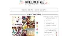Happyculture et vous - Mars 2015  http://happyculture-et-vous.fr/le-concept-punchy-du-matin/