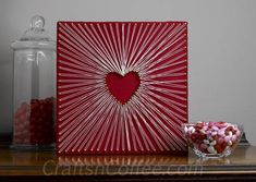 String-Art Heart Made the Easy Way