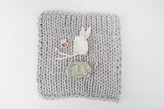 Rylee + Cru x Lane & Mae Baby Chunky Knit Blanket