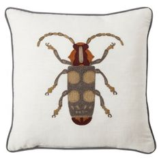 """I don't want this for myself, it just seems like a cool gift for a bachelor or something. Threshold™ Beetle Toss Pillow (18x18"""")"""