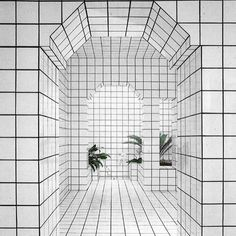 white and black. ROOM 2804 via emmanuelcaurel