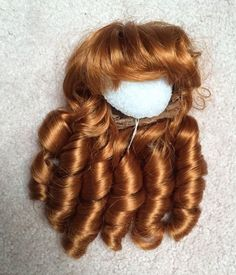 Kemper NICOLE Doll Wig 8-9 CARROT Sausage Curls in the box in Dolls & Bears, Dolls, Doll Making & Repair | eBay