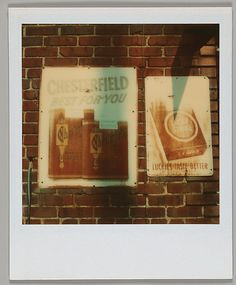Walker Evans. Polaroids 1973 Alabama