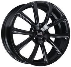 BOLA B4 MATT BLACK #BOLA #B4 #MATT #BLACK #hotwheels #rims #alloy #wheels #cars http://www.turrifftyres.co.uk