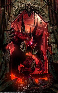 - The Art of Diablo, Wei Wang ArtStation Demon Art, Fantasy Demon, Fantasy Monster, Dark Fantasy Art, Fantasy Artwork, Fantasy Creatures, Mythical Creatures, Darkest Dungeon, Arte Obscura