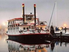 Steamboats, Long Beach, Mississippi, Cruise, Coast, Tours, Island, History, Historia